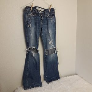 Abercrombie & Fitch 2S Madison Distressed Jeans